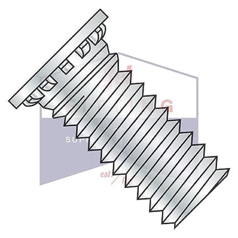 Full Thread Self-Clinching Studs Flush Head Self-Clinching Studs Steel Zinc Plated and Baked 4000 pcs 1//4-20 X 1-1//8