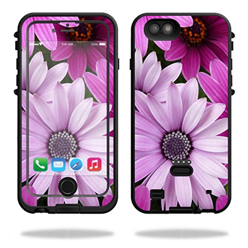 MightySkins Protective Vinyl Skin Decal for LifeProof FRE Power iPhone 6/6S Case wrap cover sticker skins Purple Flowers