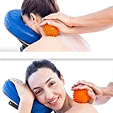 Massage Ball – body massager Lacrosse Balls with Spike to Improve Reflexology and Mobility - Trigger Point Roller for Myofascial Release and Plantar Fasciitis