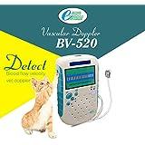 Pocket 8Mhz flat probe vet detector use to monitor animal vascular speed veterinary vascular doppler