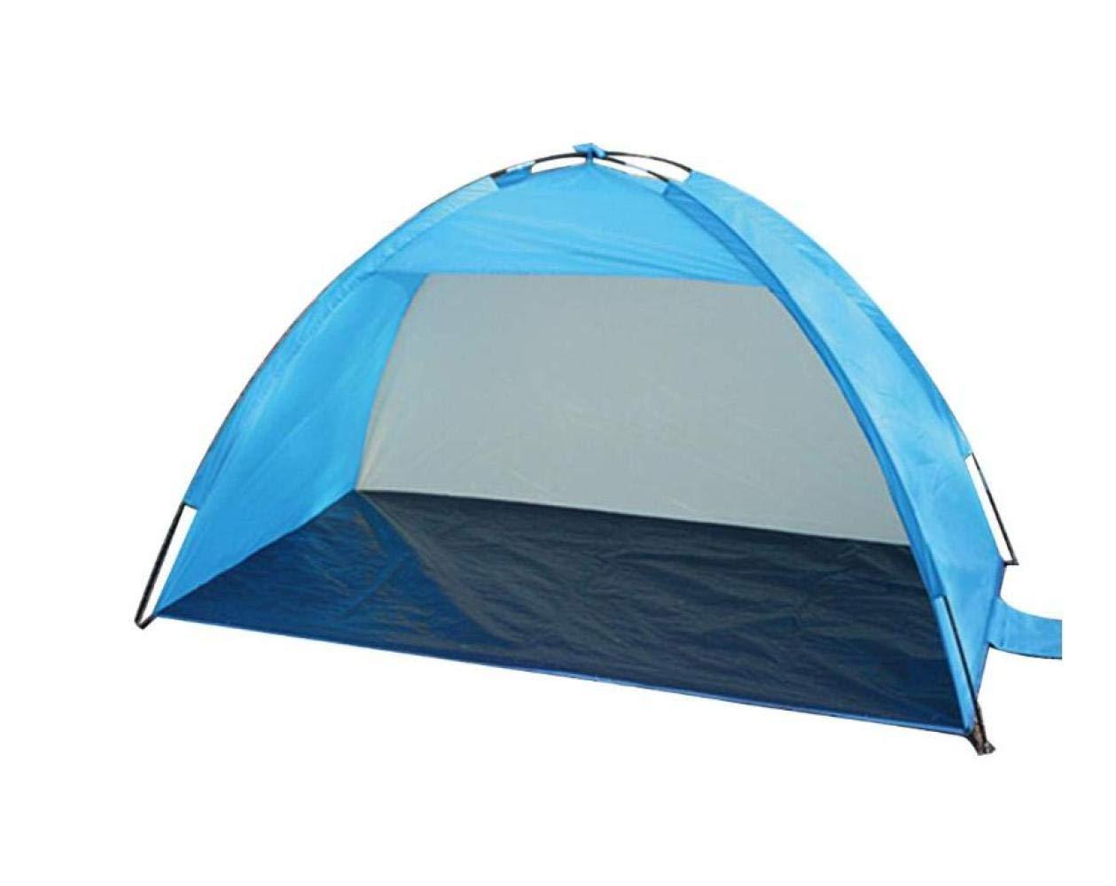 opciones a bajo precio Azul UNA QHY Tienda de Campaña, Tienda de Jugara Jugara Jugara de Pesca Automática para Acampar Al Aire Libre, 3-4 Personas Construidas Tienda de Parasol para Jugara de Velocidad de Jugara para Camping  nuevo estilo