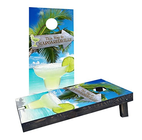 (Custom Cornhole Boards Incorporated CCB349-AW Margaritaville Cornhole Boards)