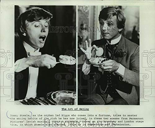 1968 Press Photo Tommy Steele In Scenes From 'Half A Sixpence' - mjp37408 - Historic Images