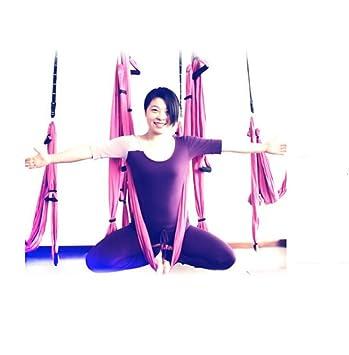 hhord multifunción Yoga hamaca para cuerda, Pilates Fitness ...