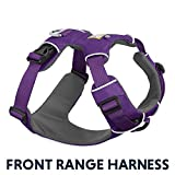 RUFFWEAR - Front Range, Everyday No Pull Dog Harness with Front Clip, Trail Running, Walking, Hiking, All-Day Wear, Tillandsia Purple (2017), Medium