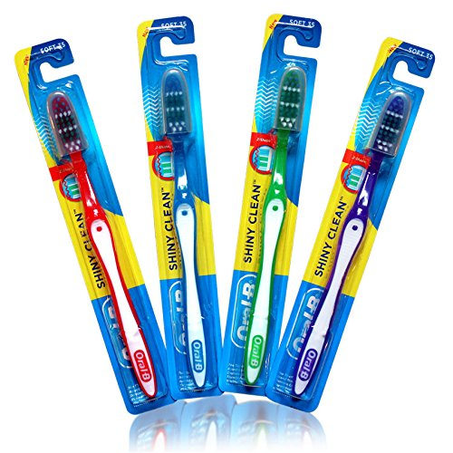 Oral-B® Shiny Clean Soft™ 35 Toothbrush; 12 Pack