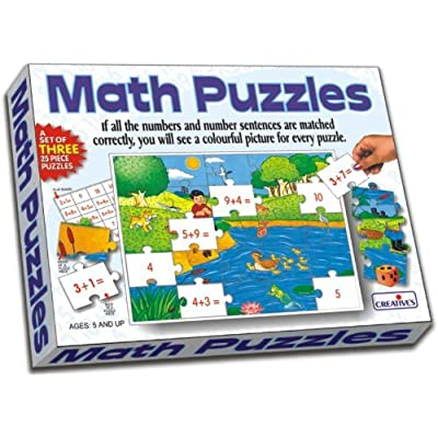 Creative Educational School Addition Math Puzzles: Toys & Games
