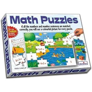 Creative Educational School Addition Math Puzzles