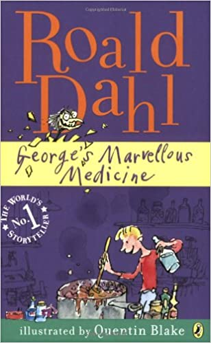 Image result for george's marvellous medicine book cover