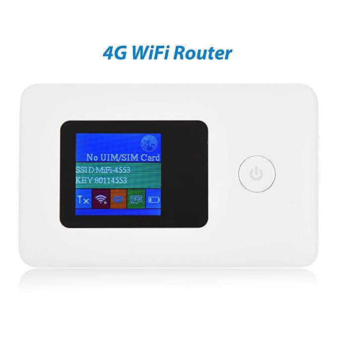 Mugast Mobile 4G Hotspot Router con Ranura para Tarjeta SIM ...