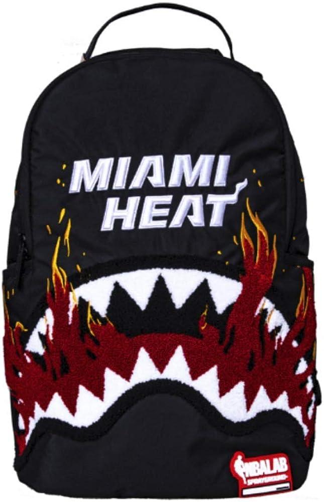 NBA LAB MIAMI FIRE SHARK Backpack by Sprayground