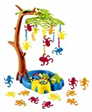 Game Zone P25017 International Playthings - Monkeying Around - A Balancing Game with Monkeys Hanging in a Tree for 2-4 Players Ages 4 and up