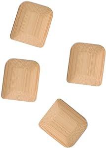 bambu, Organic Bamboo Pot Scrapers, Food Safe Kitchen Tools - Set of 4