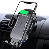Touch Sensitive Wireless Car Charger FLOVEME 10W Wireless Car Charger Mount Automatic Clamping Qi Car Charger Mount Compatible with iPhone Xs Max/XR/X/8/8 Plus Samsung Galaxy S10/S9 Note 9/8 and More