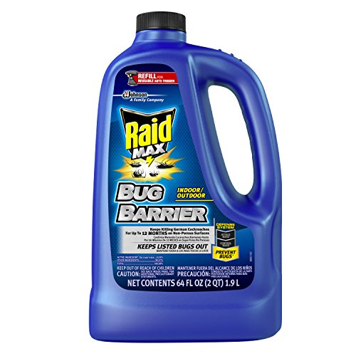 Raid Max Bug Barrier Refill 1/2 gal (Pack of 4) -