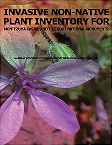 Book Invasive Non-native Plant Inventory for Montezuma Castle and Tuzigoot National Monuments