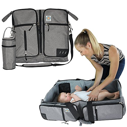 3-in-1-travel-bassinet-diaper-bag-portable-change-station-multi-functional-premium-quality-water-res