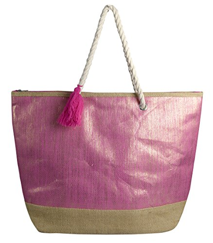 Shoulder Bags Peach Tote Travel Hobo Large Pink Beige Couture Handbags Gold Weave Rqrw68Rz