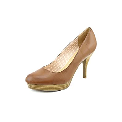 947ea19023a8 Unlisted Kenneth Cole File System Womens Tan Pumps Heels Shoes Size UK 5.5   Amazon.co.uk  Shoes   Bags