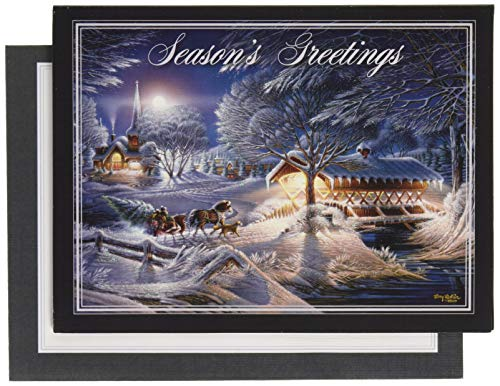 (Lang Evening Frost Classic Christmas Cards)