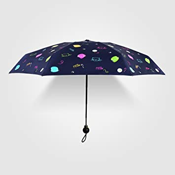 hfudfrvhfjdg Sombrillas Nuevo 50% vinilo PARAGUAS paraguas paraguas de bolsillo Sol sol paraguas cápsula ultra