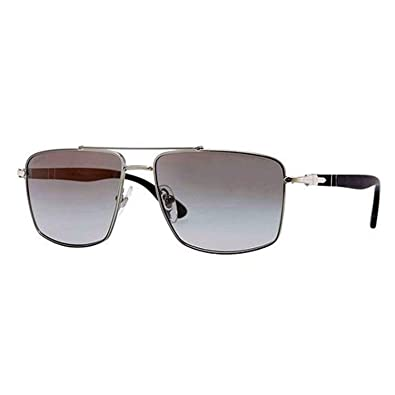 Amazon.com: Persol PO2430S sunglasses-1011 m3 Gunmetal ...
