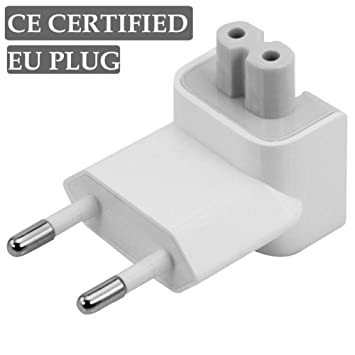 Adaptador Enchufe España Europa para Reemplazo Cargador Apple MacBook PRO Adapter iPod