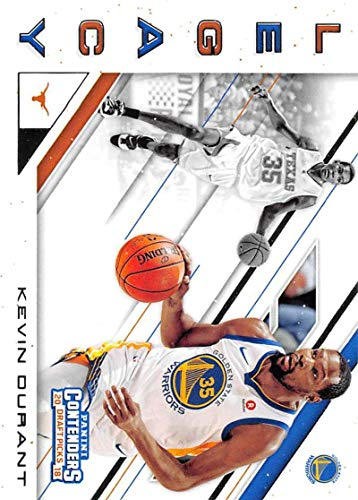 2018-19 Panini Contenders Draft Picks Legacy #19 Kevin Durant Golden State Warriors/Texas Longhorns