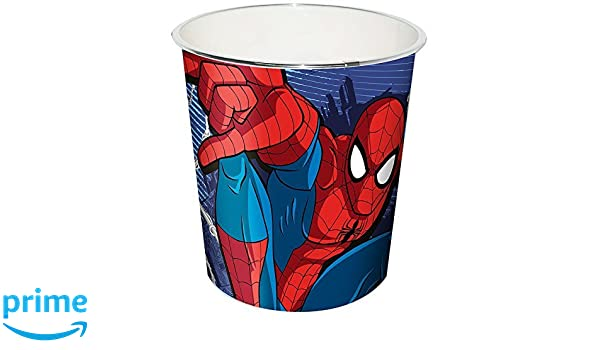 Bol Palomitas Popcorn 2.8 l polypropileno Plastico Duro Spiderman Marvel: Amazon.es: Hogar