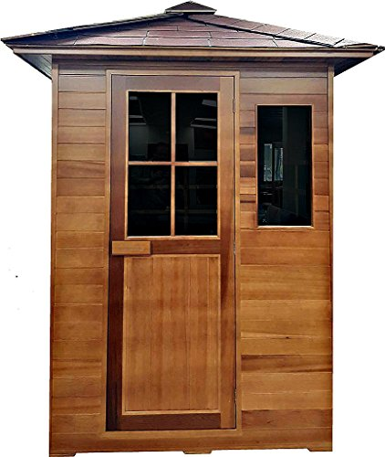 Western Pacific 3 Person Outdoor Sauna Weather Resistant ...