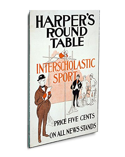 Harpers Round Table Vintage Poster #2 Acrylic Print Wall Dec