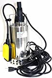 900 watt subs - 1 Hp Stainless Submersible Pool Pond Drain Sub Water Pump 900w 50gpm Pump