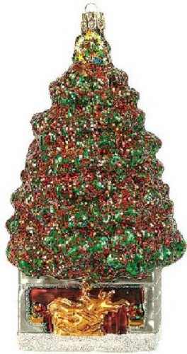Pinnacle Peak Trading Company Rockefeller Center New York City Christmas Polish Glass Ornament NYC Decoration -