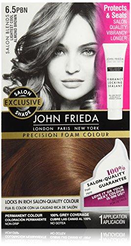 John Frieda Precision Foam Colour, Lightest Cool Almond Brown (Cool Colours)