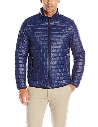Tommy Hilfiger Men's Ultra Loft Quilted Packable Jacket, Navy, M