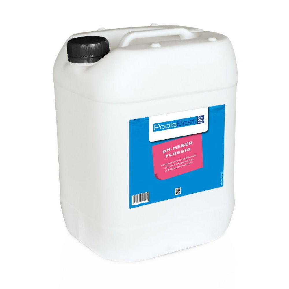 25 Kg - PoolsBest® pH-Heber flüssig 45% ig: Amazon.de: Garten