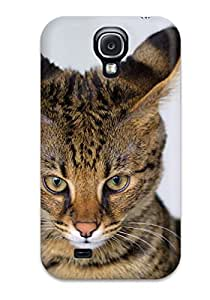 Awesome JeremyRussellVargas Defender Tpu Hard Case Cover For Galaxy S4- Savannah Cats 9852774K64809160