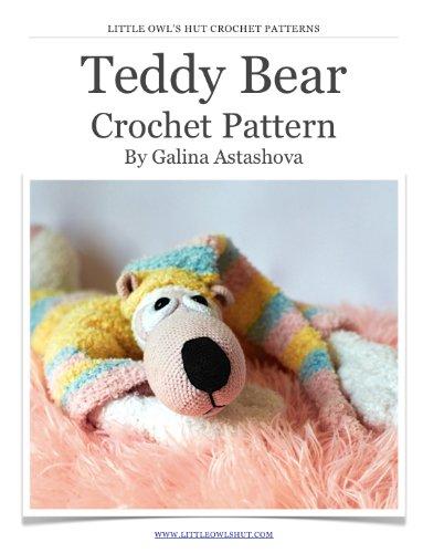 Teddy Bear Crochet Pattern. Amigurumi - The Bear Hut