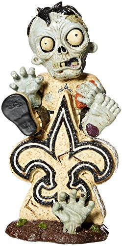 New Orleans Saints Sitting On Logo Zombie -