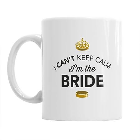 bride bride gift can t keep calm bride mug bride to be bride to