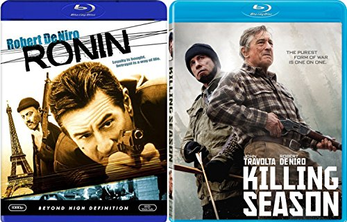Killing Season & Ronin Robert De Niro Blu Ray Set