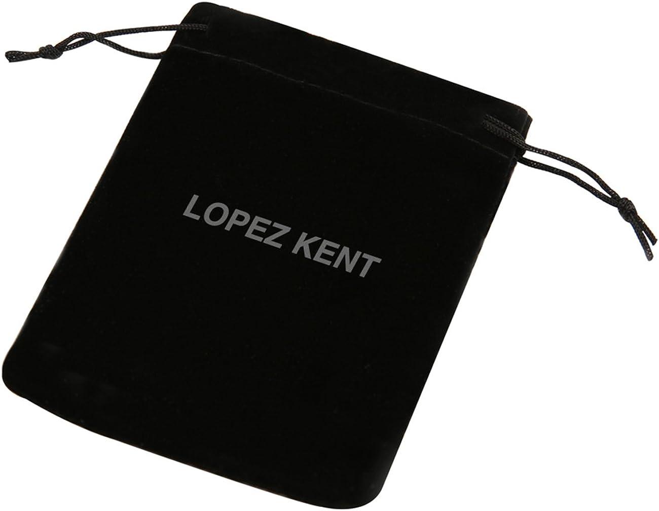 LOPEZ KENT Mode Musique Anneaux en Acier Titane Guitare