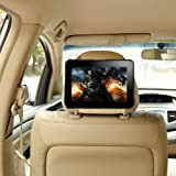 "TFY Car Headrest Mount Holder for Kindle Fire HD 7"" (Previous Generation), Fast-Attach Fast-Release Edition, Beige (Only Fits Kindle Fire HD 7"", Previous Generation)"