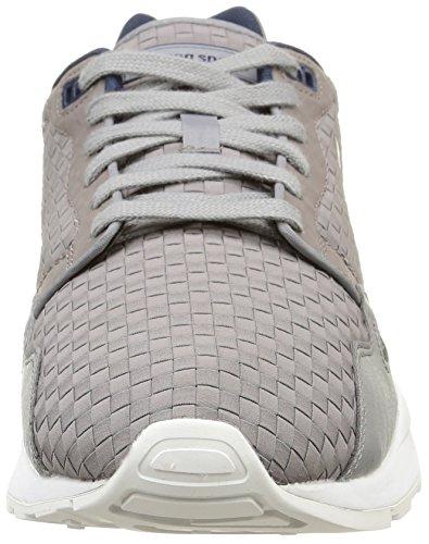 Lcs R900 Sneaker Woven gris Le Grigio titanium Sportif Uomo Coq RwxCP