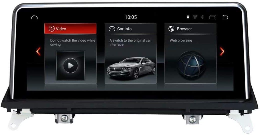 TOPNAVI 32GB Voiture Table pour Toyota Prado 2017 2018 Android 8.1 Auto Radio St/ér/éo avec 2 Go de RAM WiFi 3G RDS Lien Miroir FM AM Bluetooth Audio Vid/éo Num/érique TV OBD Dab Cam/éra Carplay en Option