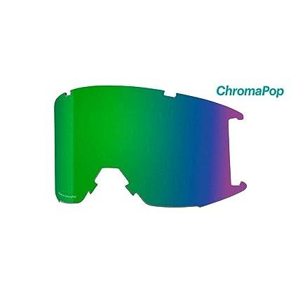 f4198f4775b8f Smith Optics Squad XL Adult Replacement Lense Snow Goggles Accessories -  Chromapop Everyday Green Mirror