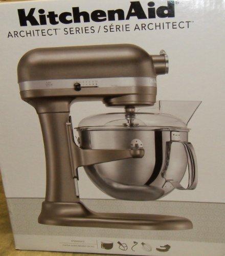 KitchenAid Professional 600 Series KP26M1XACS Bowl-Lift Stand Mixer, 6 Quart, Cocoa Silver