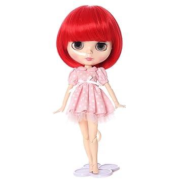 Pelucas sólo. Popular luz natural marrón peluca de muñeca American Girl Barbie bebé BJD SD