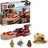 LEGO Star Wars: A New Hope Luke Skywalker's Landspeeder 75271 Building Kit, Collectible Star Wars Set, New 202