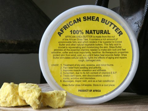 African Shea Butter Cream (100% Pure & Raw, Gold) 8 Oz. (Natural Shea Butter compare prices)